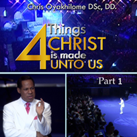 4 things christ is made unto us 1